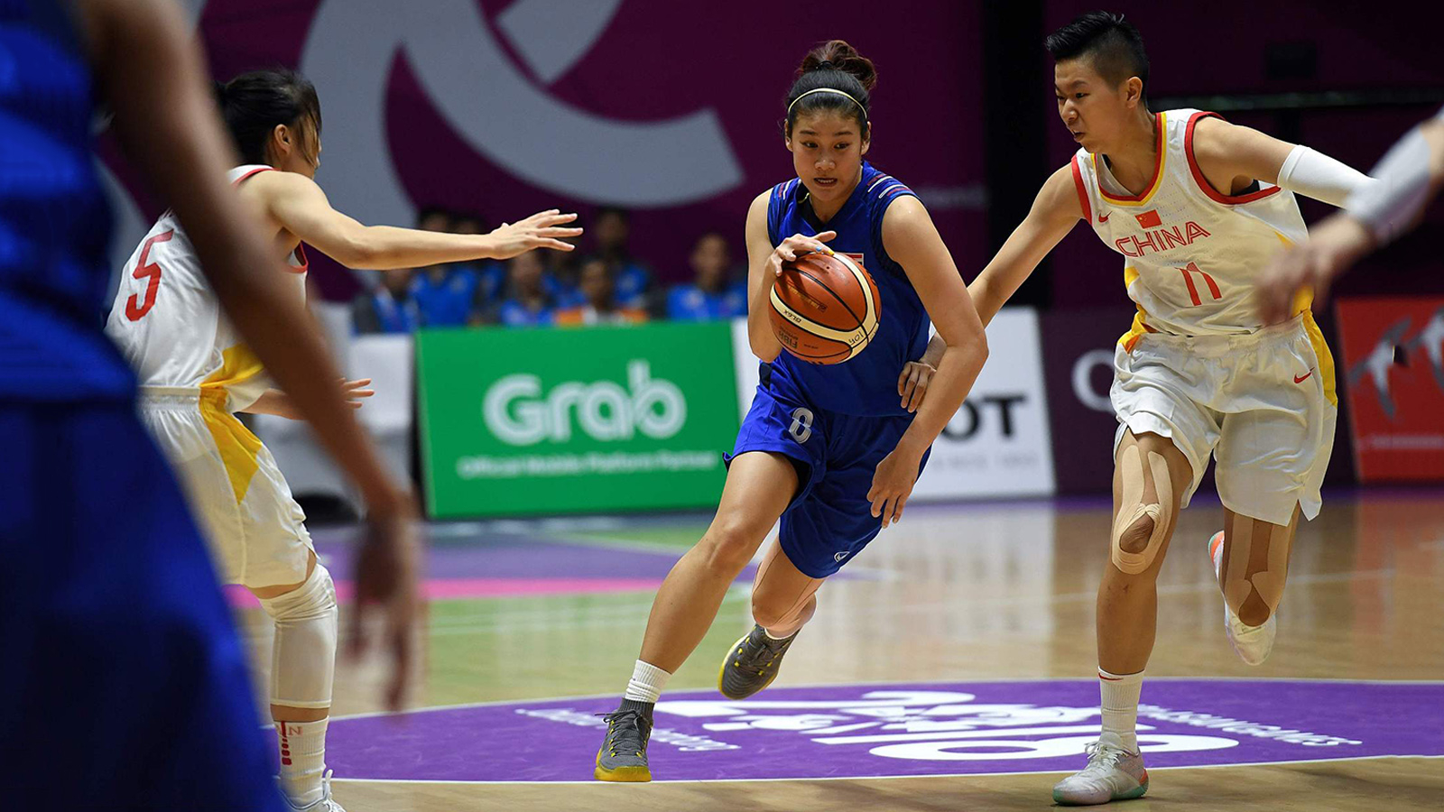 China steamroll Thailand in opening game of Asian Games