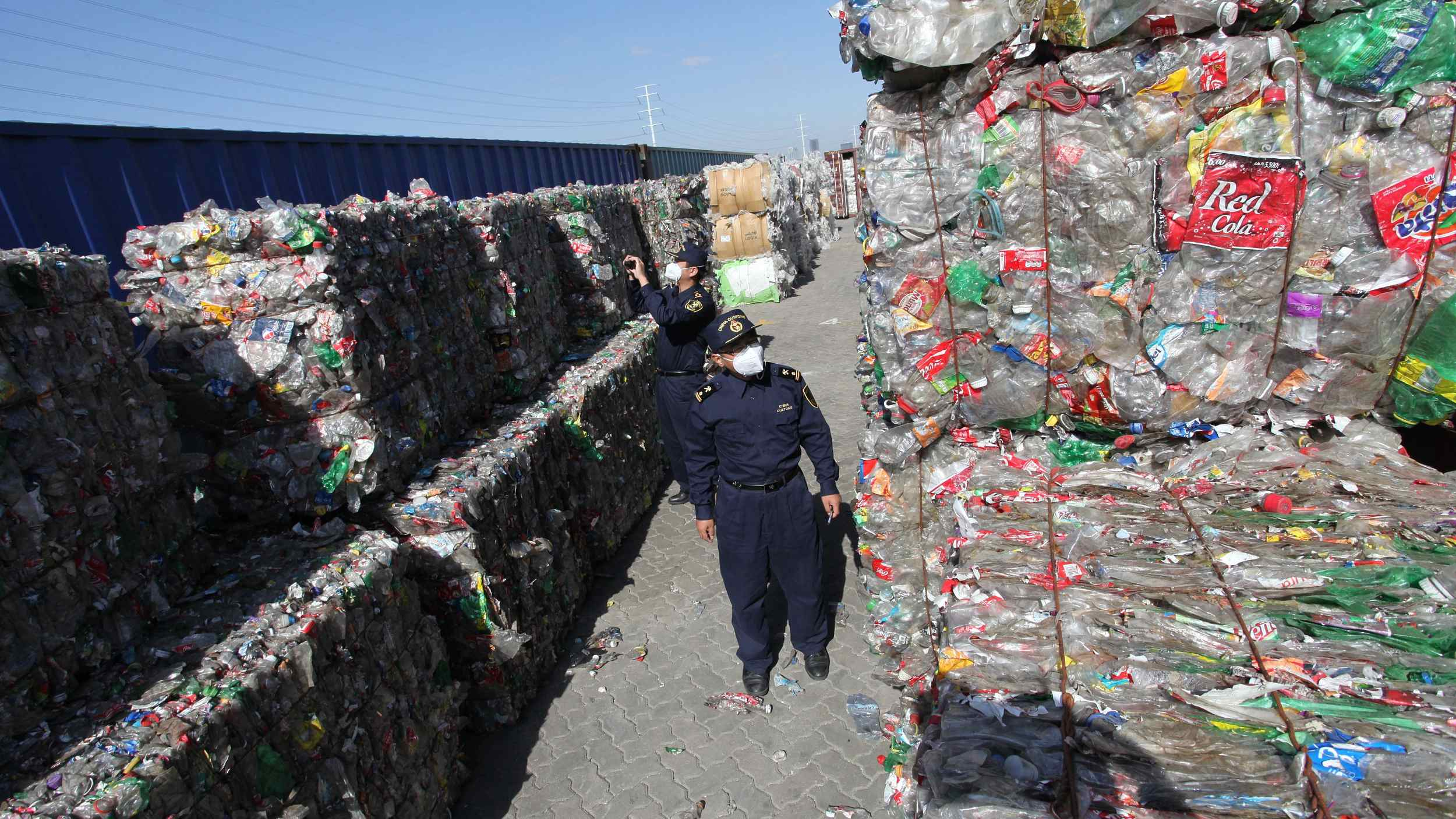 China's solid waste imports continue to slump on tighter control