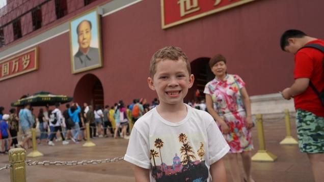 Internet fame brings Gavin the meme boy to China