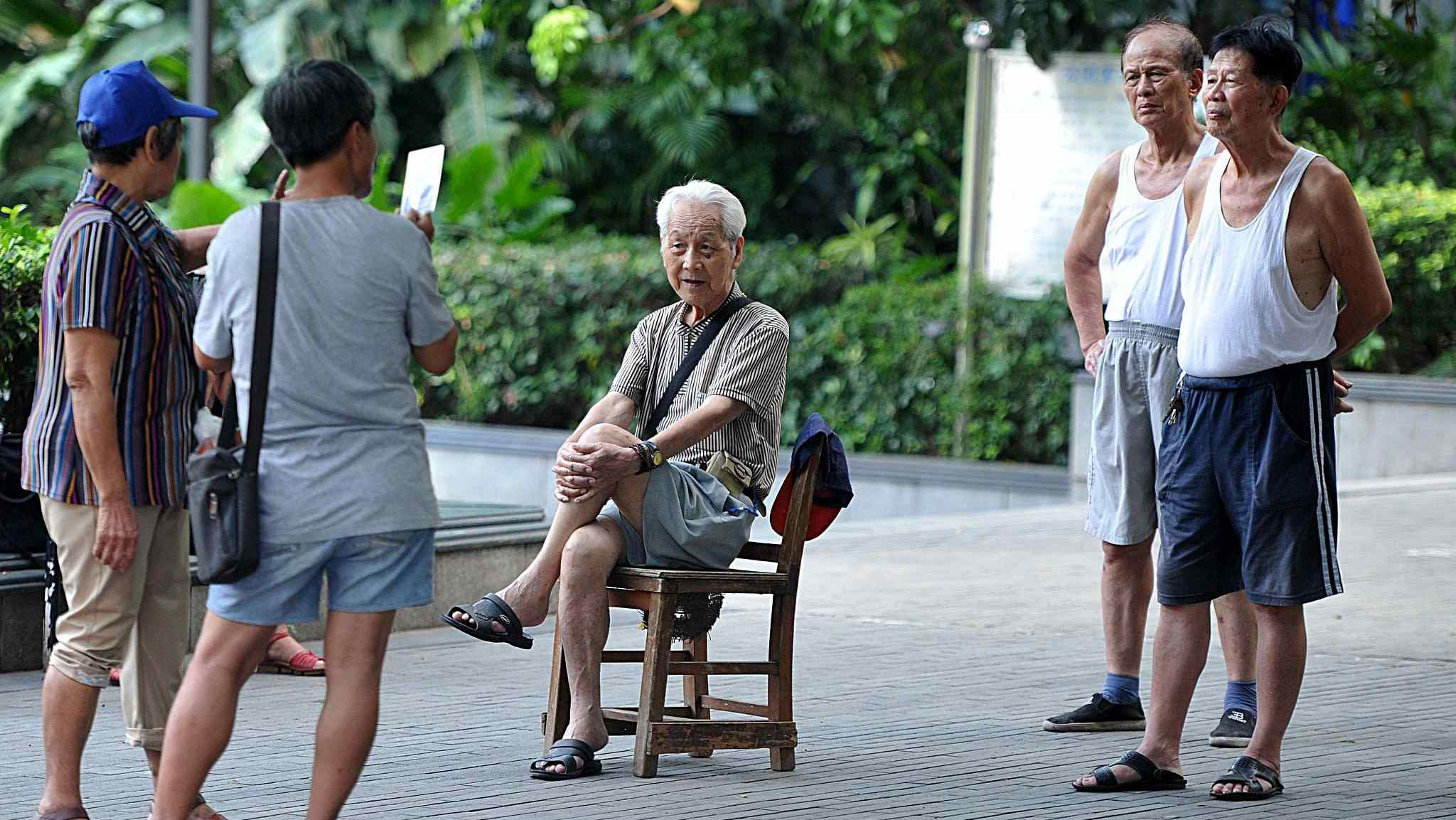 China's demographic transition: Old is gold?