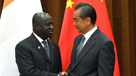 Chinese FM vows to enhance cooperation with Cote d'Ivoire