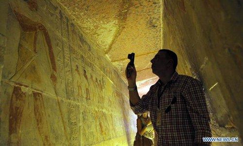 Egypt inaugurates Old Kingdom tomb near Cairo