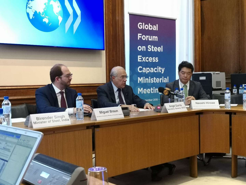 Global Forum on Steel Excess Capacity 2nd Ministerial Meeting held in Paris