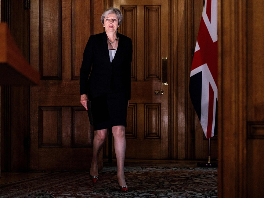 May says EU reponse to UK Brexit plan 'not acceptable'