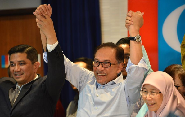 Former Malaysian deputy PM Anwar declared as candidate for parliamentary seat