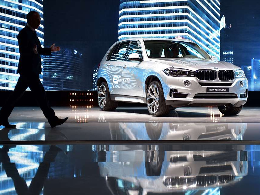 BMW to recall over 7,800 cars in China