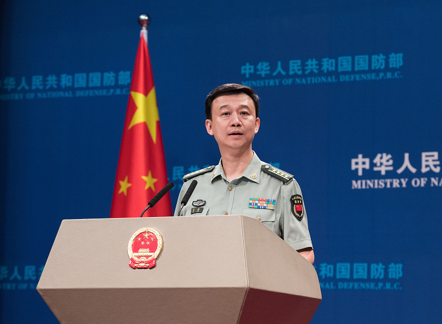 China firmly opposes sanctions, urges US to withdraw: defense spokesman