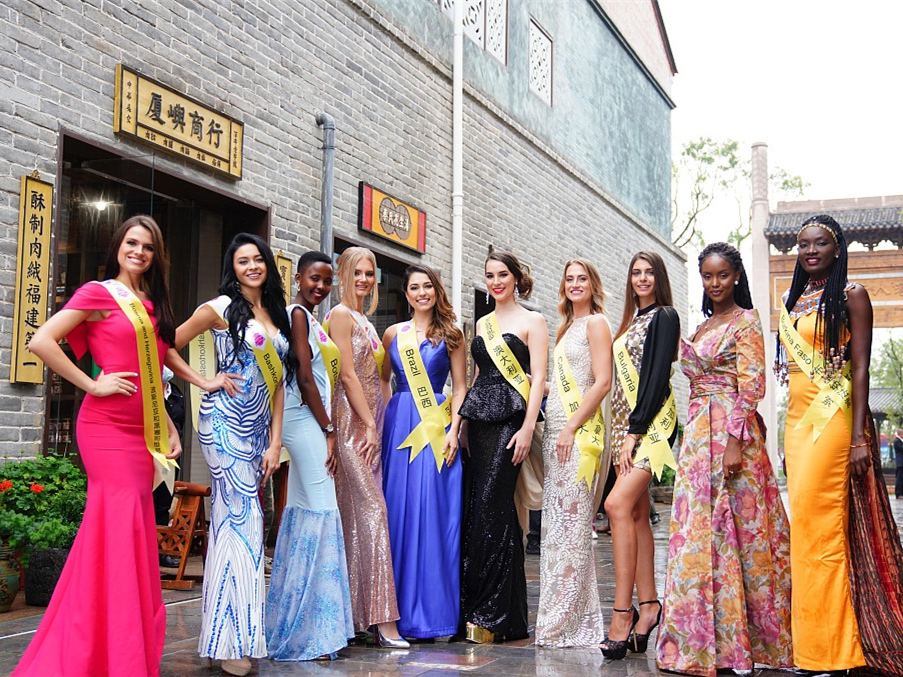 Miss Tourism International in ancient Chinese city Hanzhong