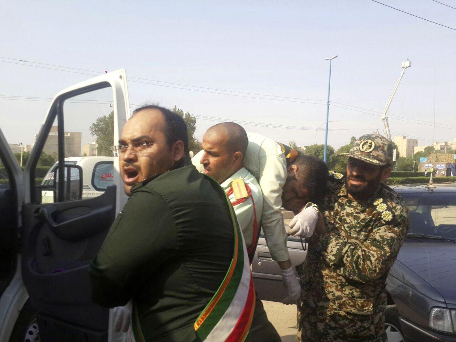 Islamic State claims killing of 29 at Iran military parade