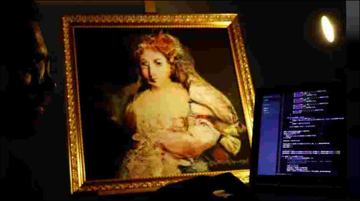 The artist as an algorithm: robot-made Rembrandt for sale