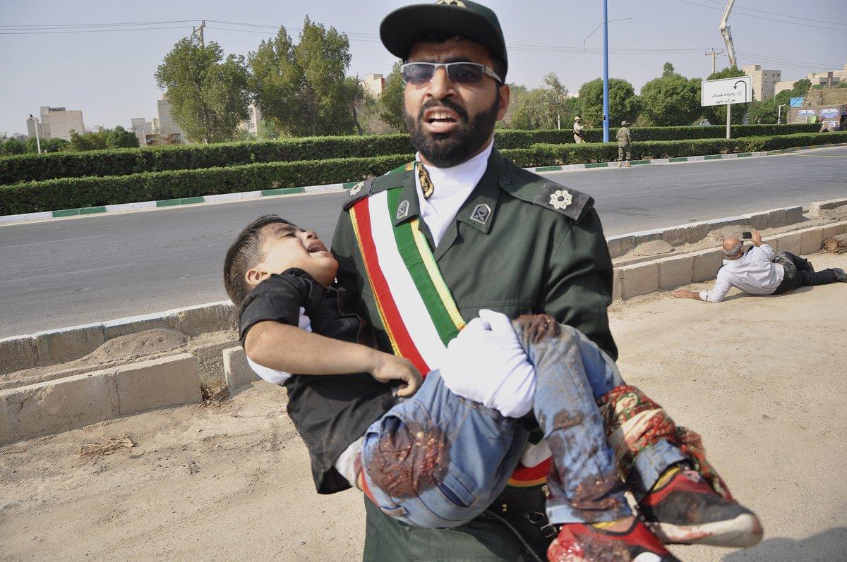 Iran summons 3 European diplomats over attack on military parade