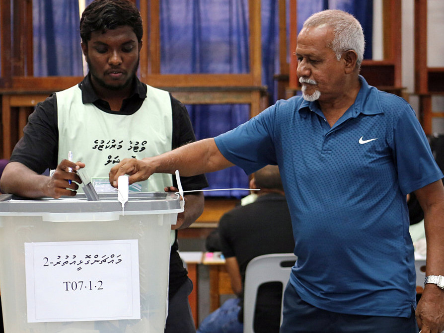 Voting for Maldives presidential election kicks off