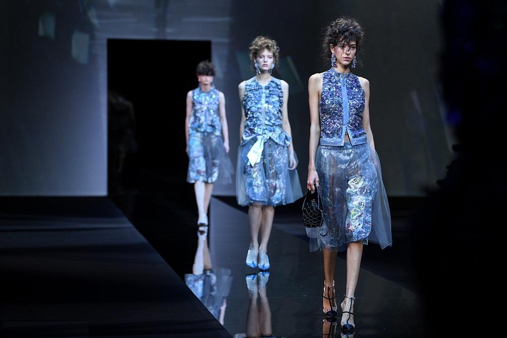 Milan Fashion Week: Giorgio Armani fashion show