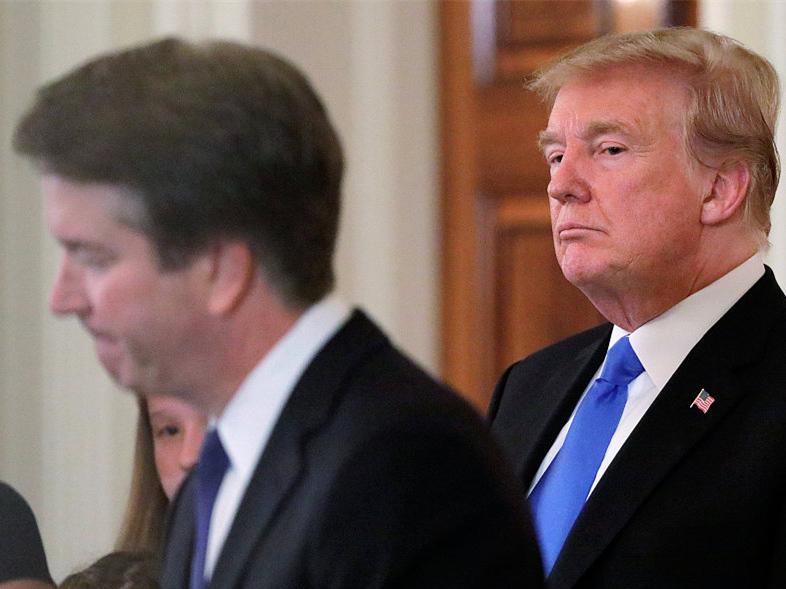 Kavanaugh sex assault allegations 'totally political:' Trump