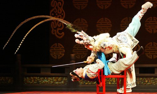 Traditional Chinese opera troupe wows Nigerian audience