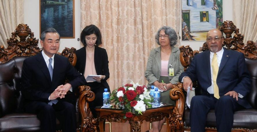 Suriname, China vow to strengthen ties