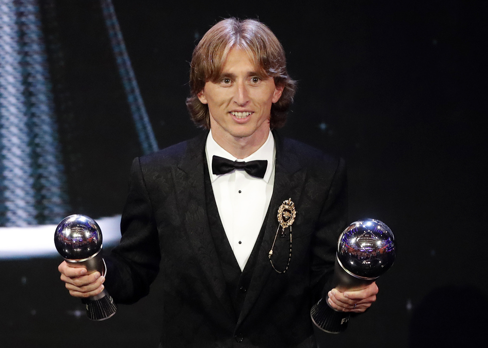 Modric ends Ronaldo-Messi era to be crowned world's best