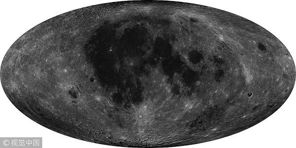"""嫦娥二号""""7米分辨率全月球影像图.jpg"""