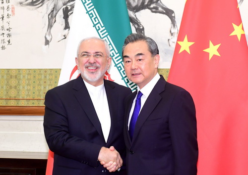 Chinese, Iranian FMs meet on nuclear issue
