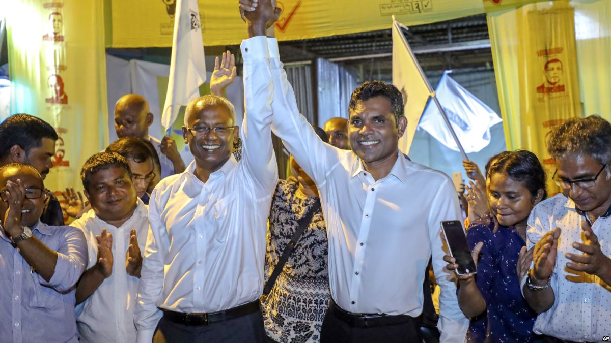 China congratulates Solih on Maldives presidential election victory: MFA