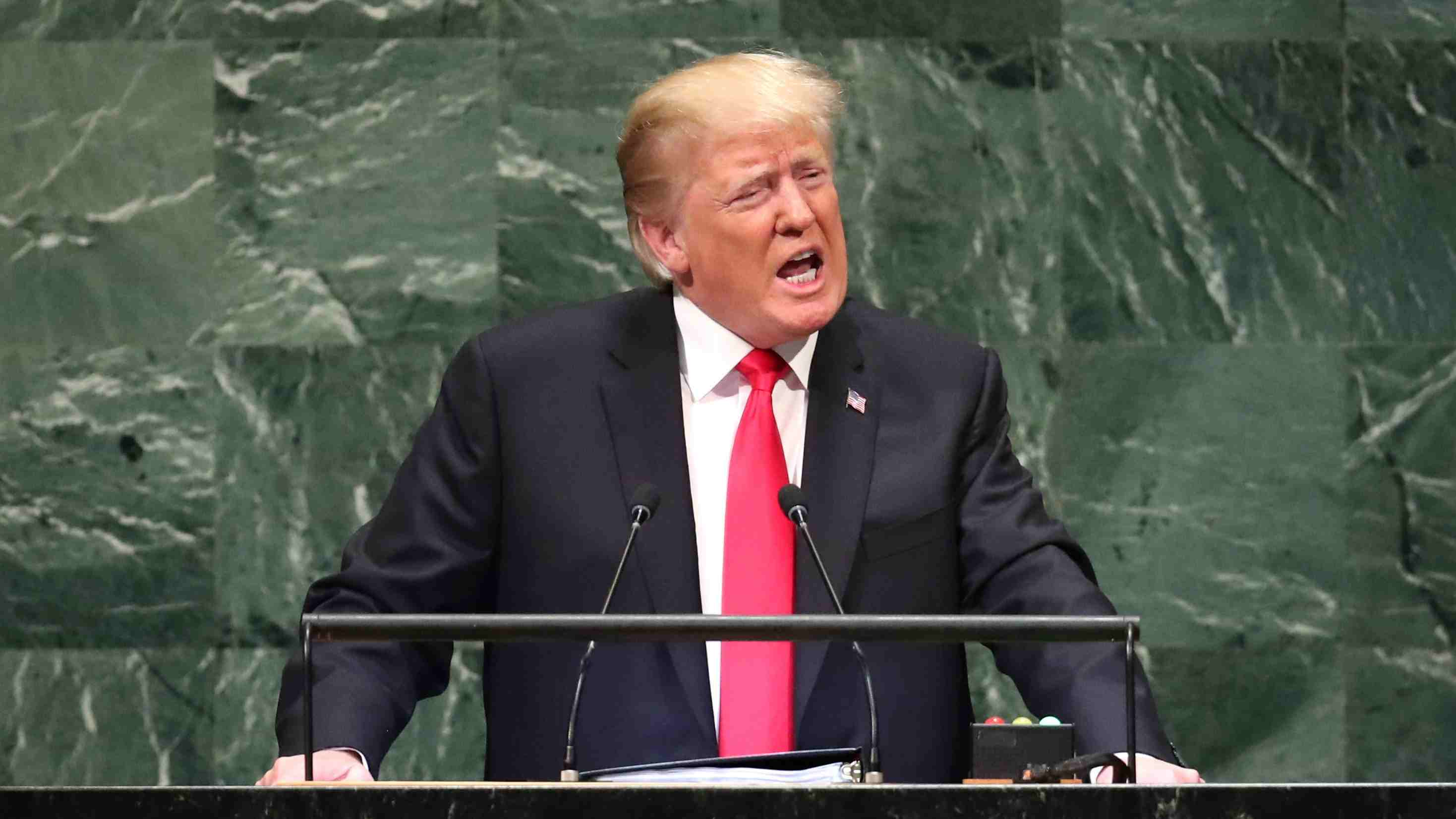 Trump says DPRK sanctions will stay until 'denuclearization occurs'