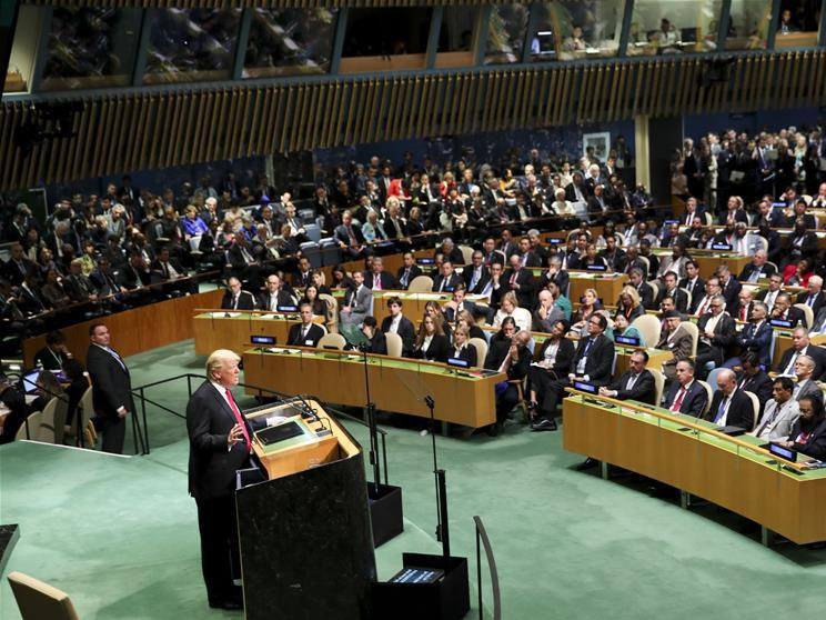 73rd session of UN General Assembly held at UN Headquarters in New York