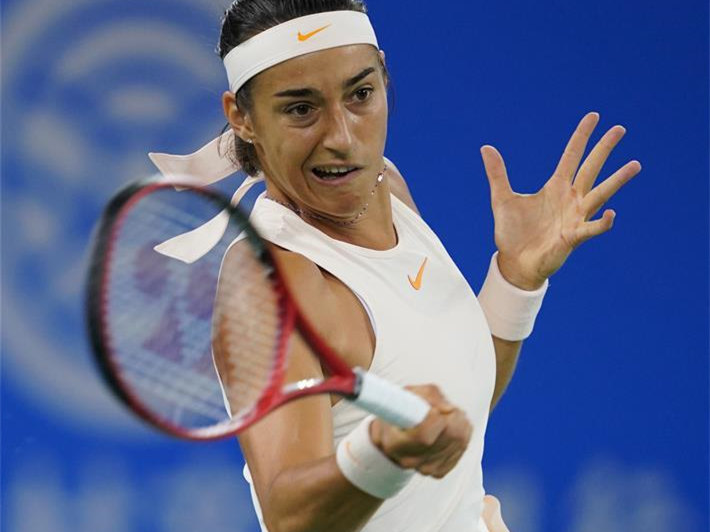 Highlights of singles second round match at WTA Wuhan Open
