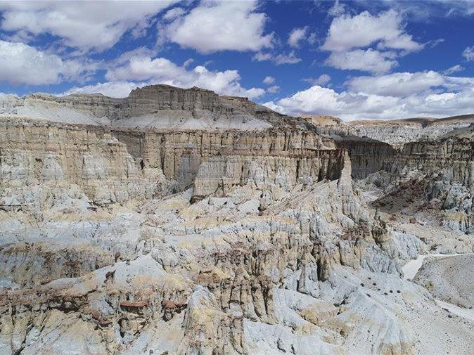Scenery of Ngari area in China's Tibet