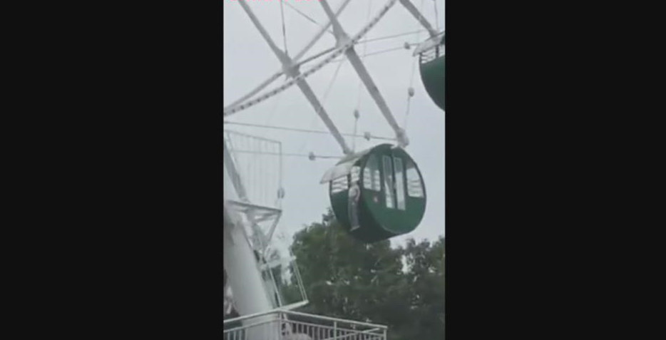 Boy almost killed while taking Ferris wheel alone in east China