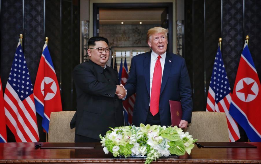 South Korean president eyes Trump-Kim meeting before end of 2018
