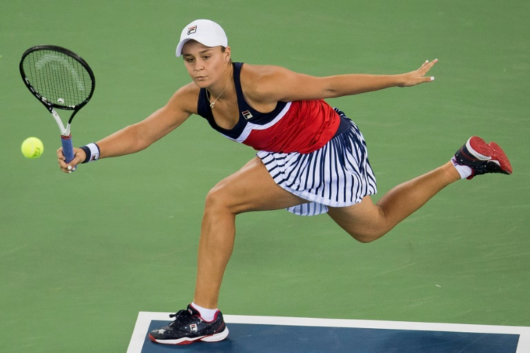 Barty time! Aussie upsets Wimbledon champ Kerber in Wuhan