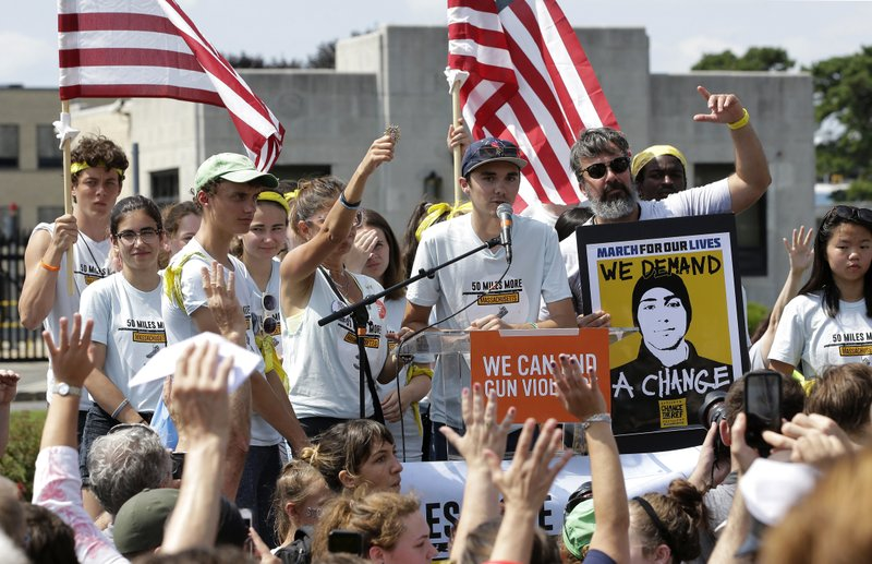AP: No widespread changes in gun laws after recent shootings