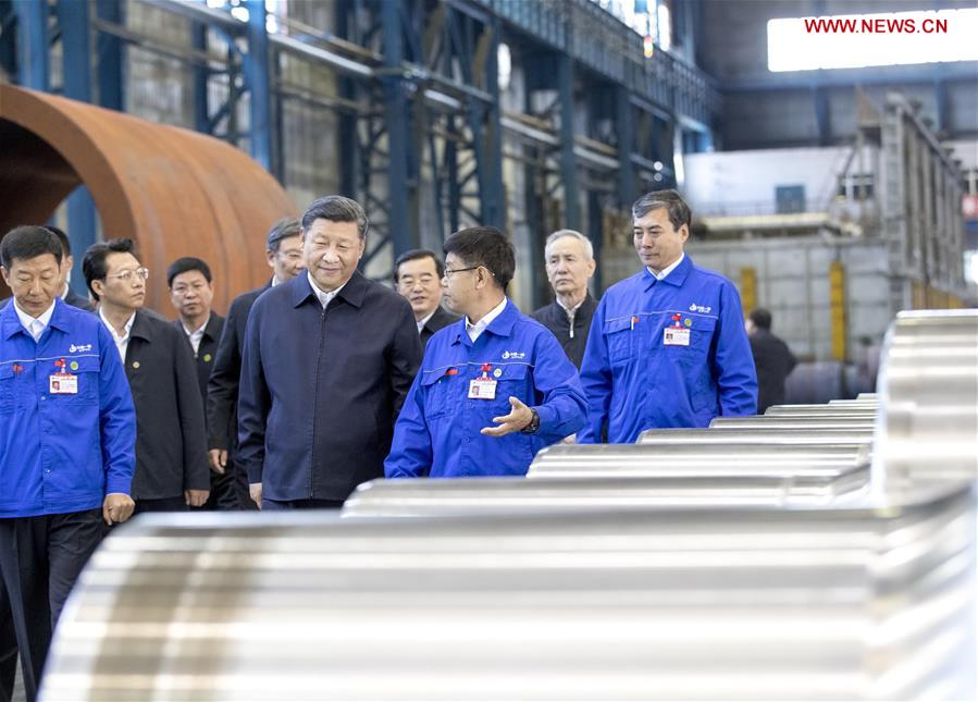 Xi calls for equipment manufacturing industry advancement
