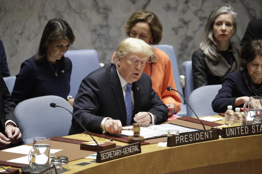 Trump not fond of setting deadline for DPRK's denuclearization