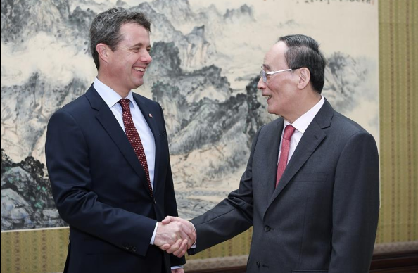 Chinese vice president meets Denmark's Crown Prince Frederik