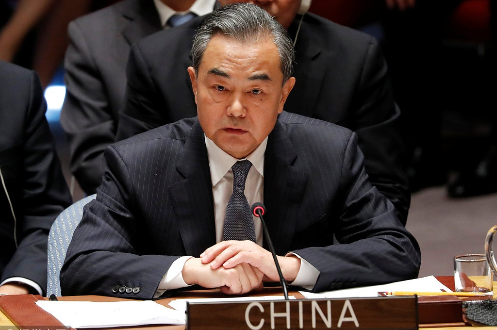 Chinese FM calls for joint efforts to solve Korean Peninsula issue