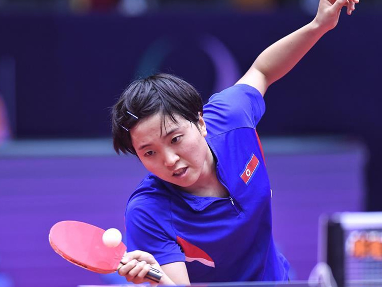 Highlights of singles matches at 2018 ITTF Women's World Cup