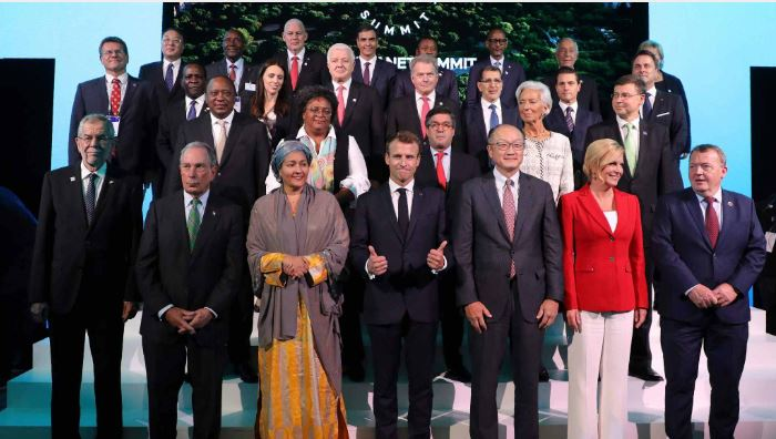 World leaders gather to breathe new life into Paris accord