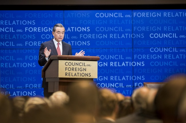 Chinese FM calls for joint efforts to maintain healthy, stable China-US ties