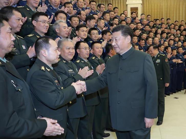 Xi inspects military, stresses training, war preparedness