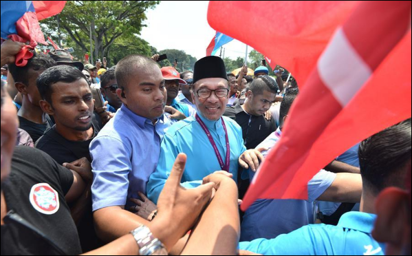 Former Malaysian deputy PM Anwar faces multi-corner fight for parliamentary seat