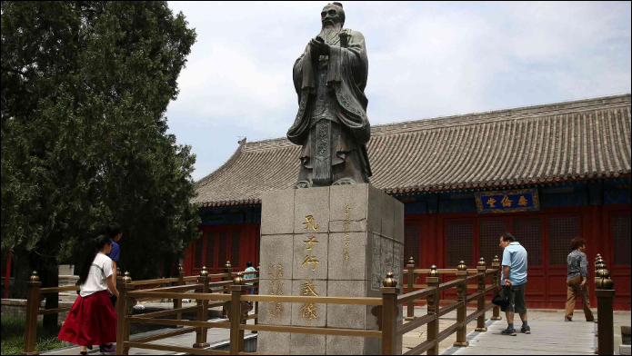 Filming starts for Confucius documentary