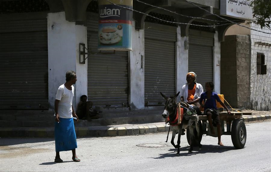 In pics: empty streets in Hodeidah as residents flee amid fears of conflict