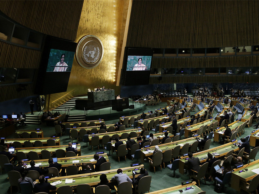 China's defense of multilateralism resonates with world at UNGA debate