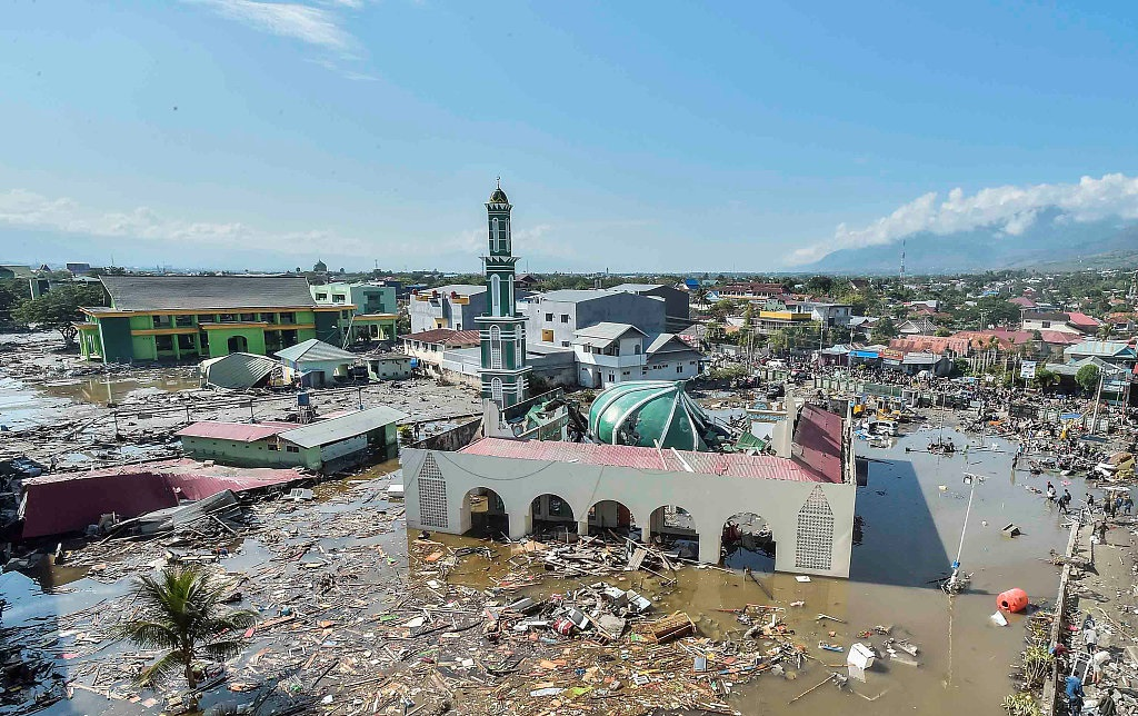 At least 832 dead in Indonesia quake-tsunami disaster: official