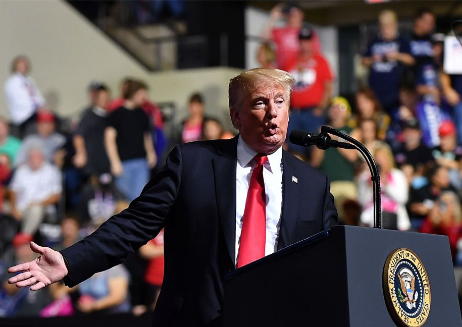 Trump says he and Kim Jong-un 'in love'