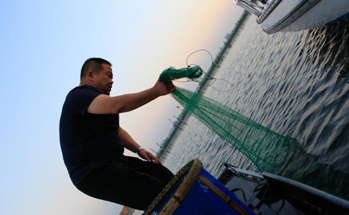 Hairy crab cultivation area on Yangcheng Lake, E China's Jiangsu