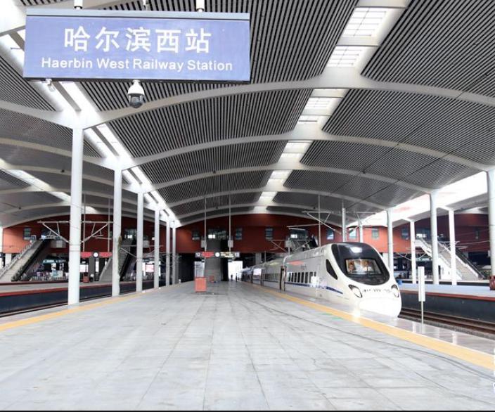 Express railway line begins operation in NE China