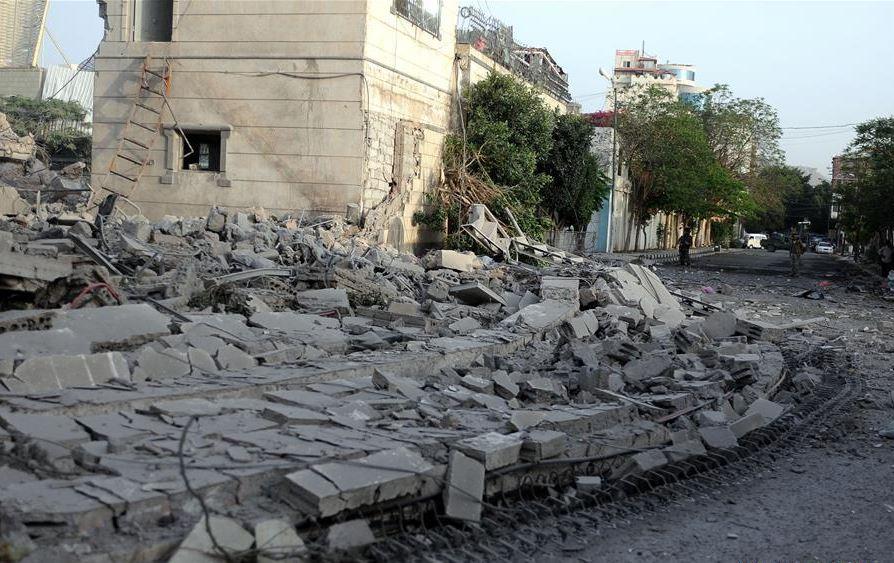 Saudi says foils Yemen's Houthi attack on port city