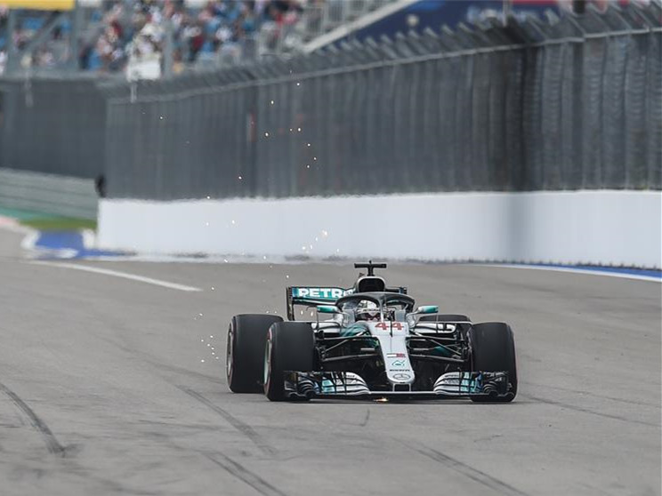 Lewis Hamilton of Mercedes wins Formula One Russian Grand Prix in Sochi